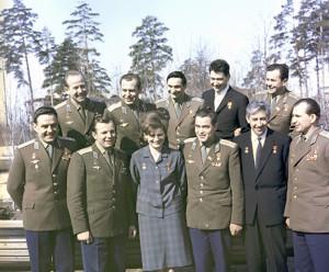 Отряд первых космонавтов СССР;